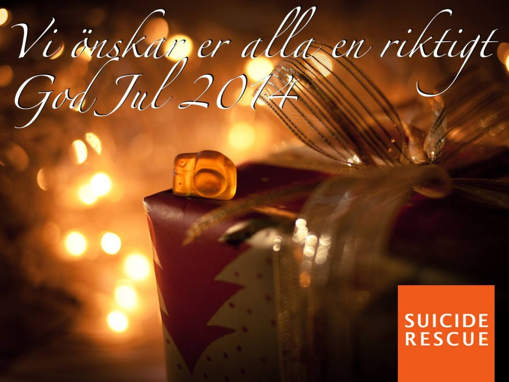 God Jul önskar Suicide Rescue